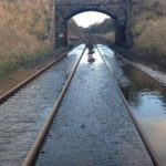 Rail back on track doesn't mean under water