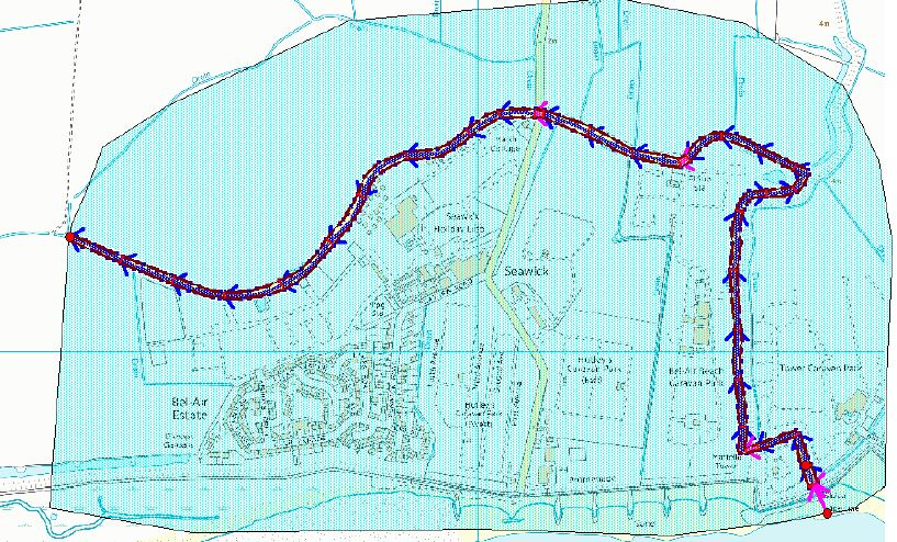 March Cottage Seawick - case study