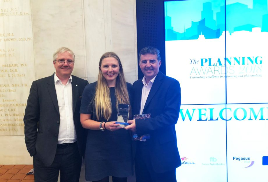 Enzygo wins award for plan-making