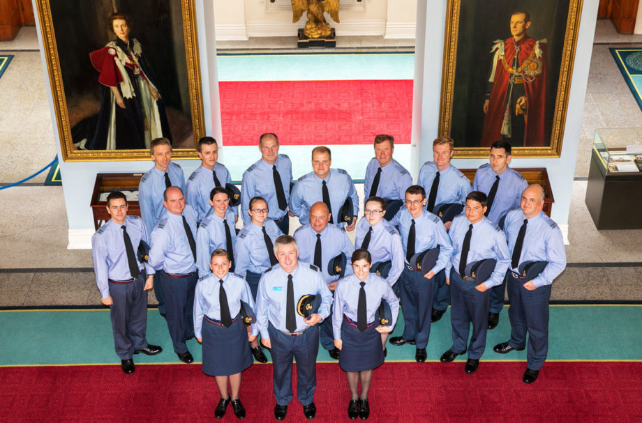 Scott Dawson Group Photo, RAF Course