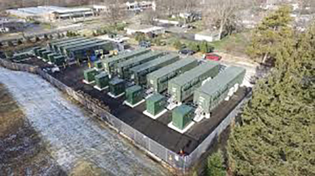battery storage facility