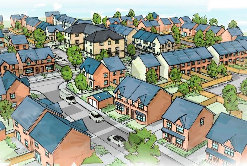 227 home masterplan dane valley