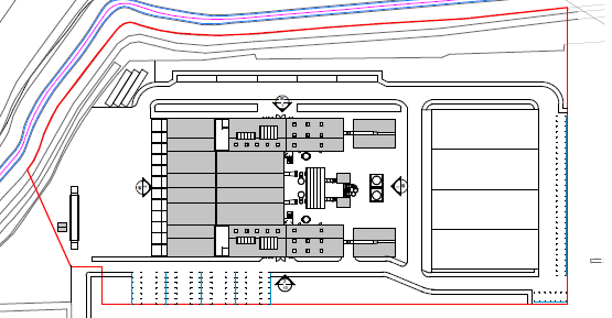 Immingham Site Layout
