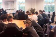Enzygo Host Stocksbridge High School for a Workplace Design Challenge for the Second Year Running