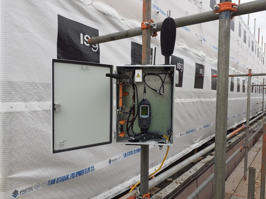 Construction Noise and Vibration Monitoring