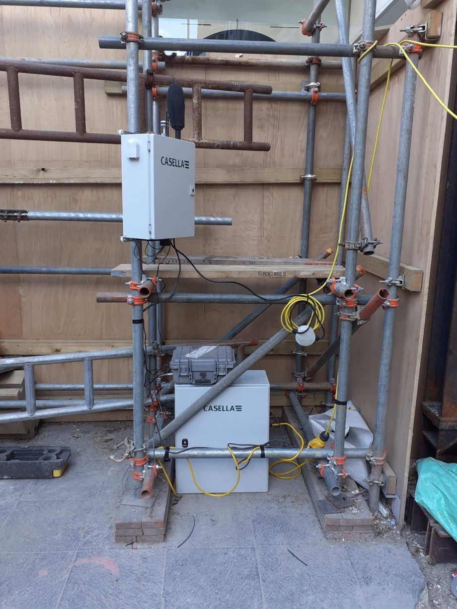 noise and vibration monitoring