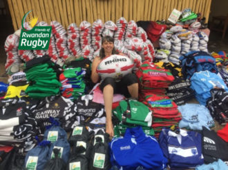 Rugby donations and supplies