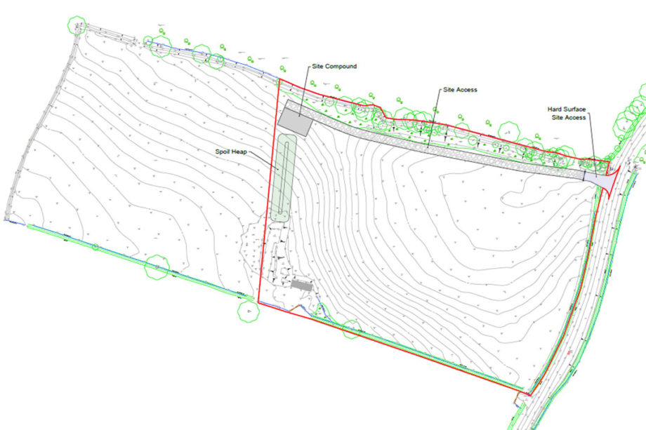 Newton Lane Planning Permission for Re-Grading of Agricultural Land